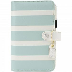 "Планер Webster's Pages Color Crush Personal Planner Kit ""Teal & White Stripe"", арт.414548"