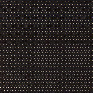 Кардсток DIY Shop 2 Specialty Cardstock Gold Foil Dots On Black, 30,5*30,5 см