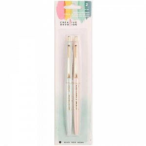 Набор ручек American Crafts Creative Devotion Ball Point Journaling Pens 2/Pkg, арт.342592
